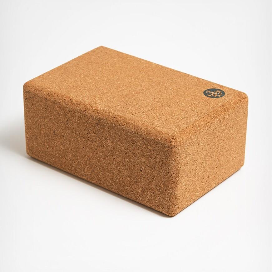 Yoga Cork Block Manduka