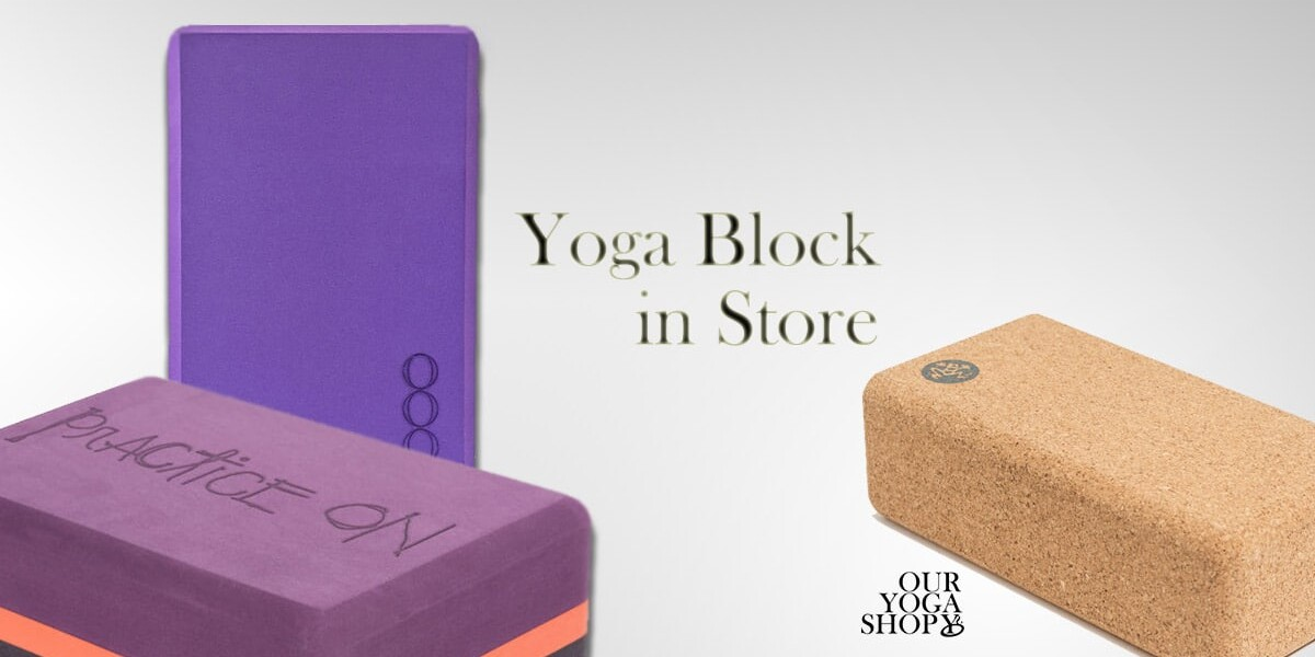 Yoga Block i Shoppen