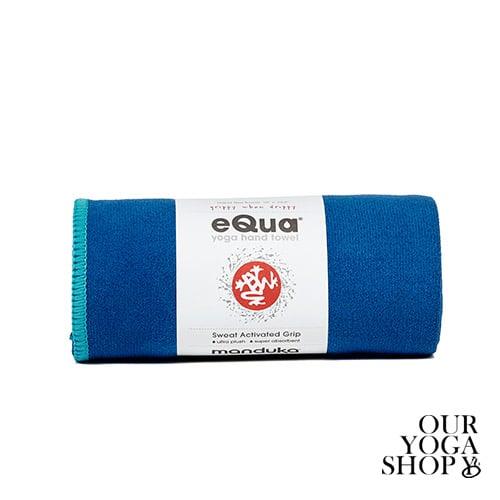 eQua Hand Towel Pacific Blue Manduka