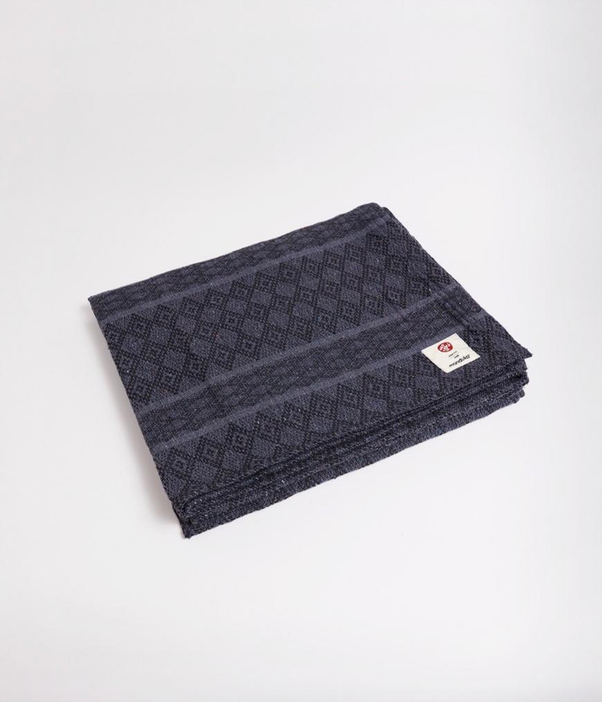 Cotton Blanket Thunder Manduka